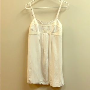 Armani Exchange White Dress
